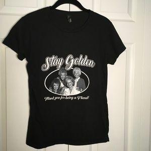 NWOT Golden Girls Graphic Tee - Stay Golden